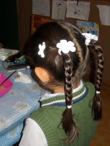I learn to braid