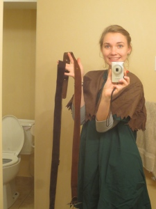 I love this one because I look like such a little kid. Plus, there's a toilet.