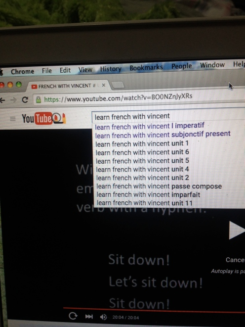 Thanking God for youtube Tutorials... Wouldn't have passed French without them!